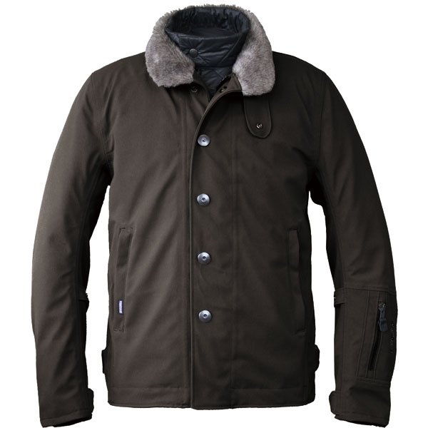 POWERAGE N-1 ライダースジャケット ブラック