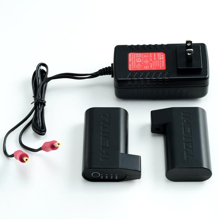 アールエスタイチ RSP042 e-HEAT 7.2V 充電器・バッテリーセット イーヒート eヒート 電熱 寒さ対策