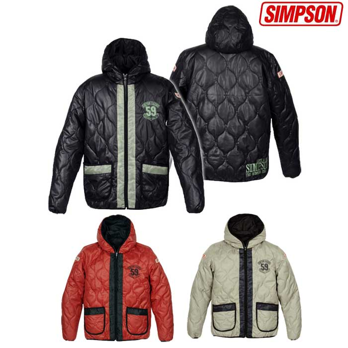 SIMPSON SIJ-401 フーデットインナージャケット 防寒