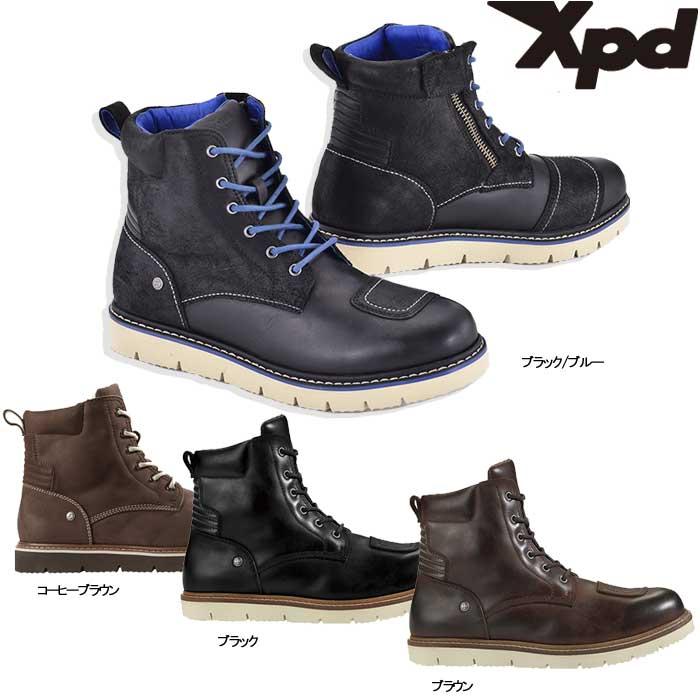 XPD XPN022 X-VILLAGE ミドルカットブーツ