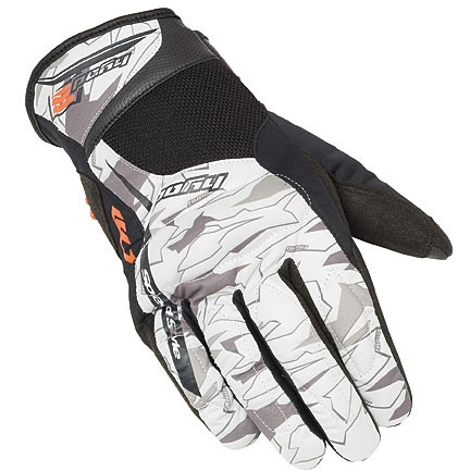 HYOD PRODUCTS W-6 WINTER GLOVES WHITE GRAPHIC