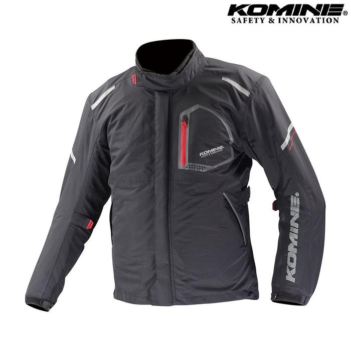 komine JK-586 コンフォートウィンタージャケット FUWA 『フワ』  防寒 防風 着脱可能保温インナー付 ブラック ◆全5色◆