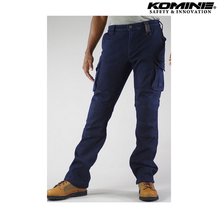 komine PK-919 ウインドプルーフウォームカーゴパンツ ネイビー ◆全5色◆