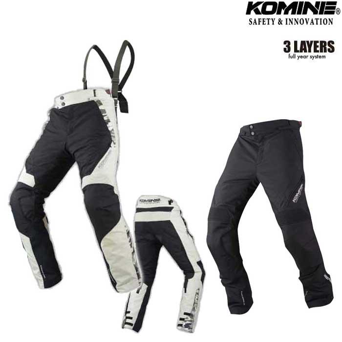komine PK-920 プロテクトフルイヤーツーリングパンツ SAKANO 『サカノ』