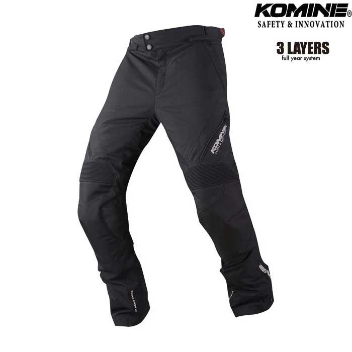 komine PK-920 プロテクトフルイヤーツーリングパンツ SAKANO 『サカノ』 ワイドサイズ