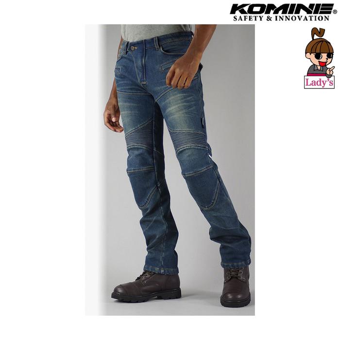 komine レディース WJ-921S スーパーフィットウォームデニムジーンズ インディゴブルー ◆全4色◆