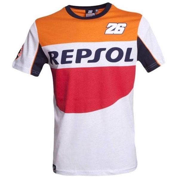 motoGP 【春夏ウェアアウトレット】個別配送のみ MOTO GP 2016 DANIEL PEDROSA REPSOL Tシャツ ホワイト