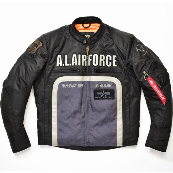 ALPHA 【通販限定】ALVA-1602W M.I.L ライダースジャケット