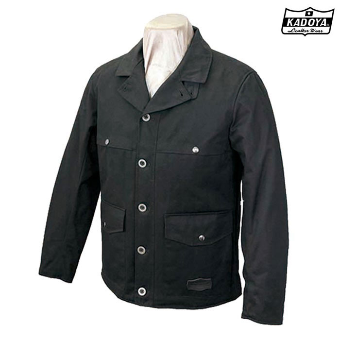 KADOYA 〔WEB価格〕6557 RM-WORK JACKET ワークジャケット防寒 防風ブラック ◆全2色◆