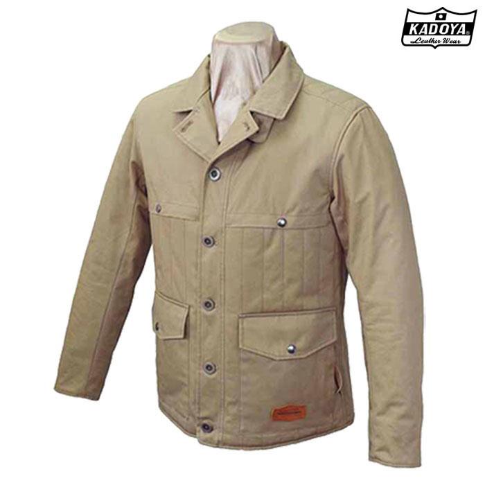 KADOYA 〔WEB価格〕6557 RM-WORK JACKET ワークジャケット防寒 防風ブラウン ◆全2色◆