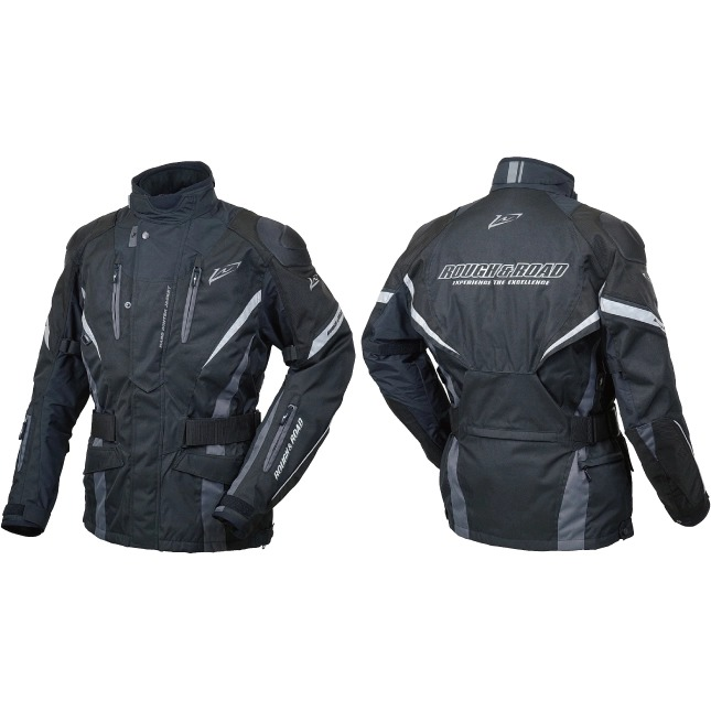 ROUGH&ROAD 【通販限定】RR7656 ウォーターシールドハードウインタージャケットFP 防寒 防風 ブラック ◆全2色◆