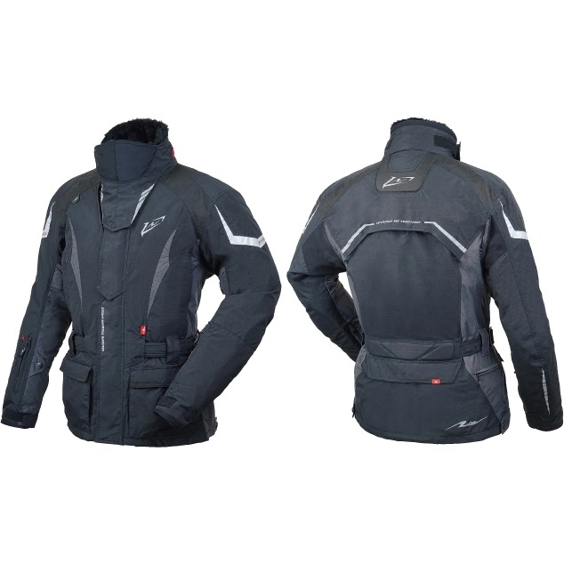 ROUGH&ROAD 【通販限定】RR7657 ウォーターシールドクルージングチタンジャケット 防寒 防風 ブラック ◆全2色◆