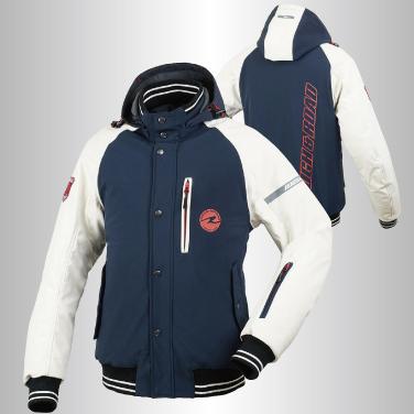 〔WEB価格〕 RR7686 ラフウインターパーカー 防寒 防風 ネイビー ◆全4色◆