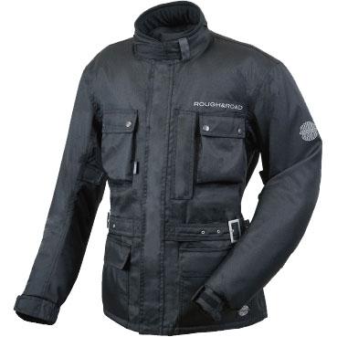 ROUGH&ROAD デュアルテックスウインタートレイルツーリングジャケット ブラック