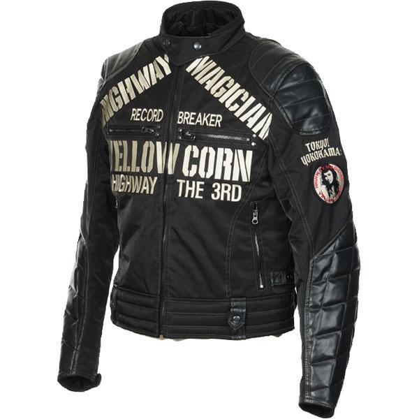 Yellow Corn 【WEB限定】YB-6305 ウインタージャケット ブラック