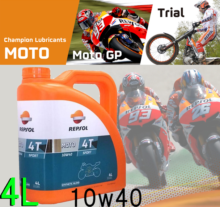 【WEB限定】007078J MOTO SPORT 4T 10W-40 4L オイル