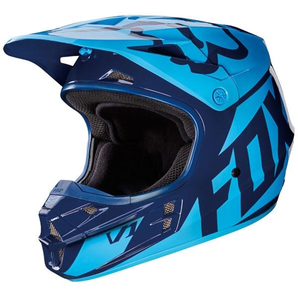 FOX RACING 【アウトレット】個別配送のみ 2017年モデル V1 レース ヘルメット 【RACE】