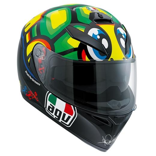 AGV 〔WEB価格〕K-3 SV TARTARUGA 【ロッシ タルタルーガ】フルフェイス ヘルメット