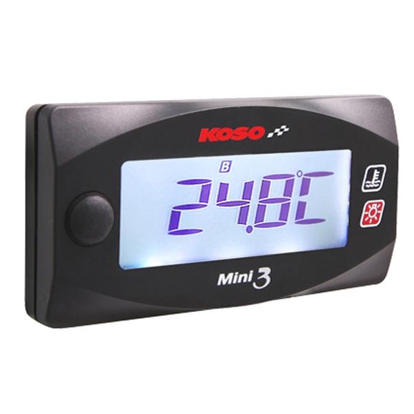 KN企画 KOSO Mini3デジタル【デュアル温度計】