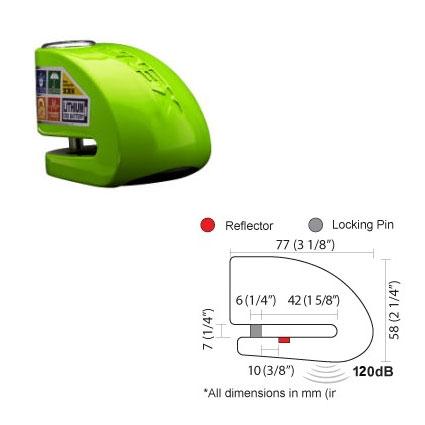 XENA XX6 BLE ディスクロックアラーム スマホ対応版
