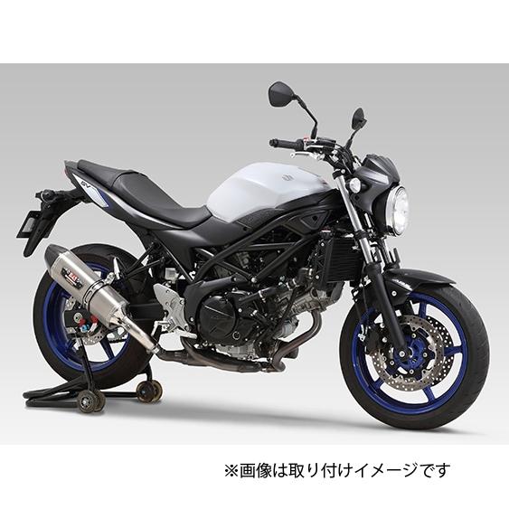 YOSHIMURA JAPAN Slip-On R-77Jサイクロン ステンレスエンド マフラー EXPORT SPEC 政府認証 SV650X '18/SV650 '16-'18