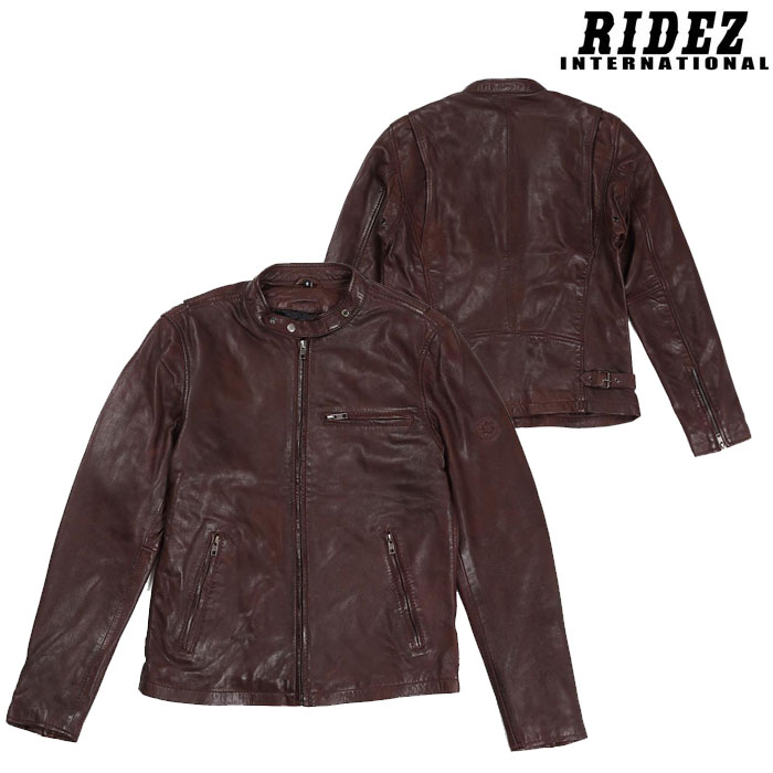 RIDEZ 〔WEB価格〕RLJ102A ACE JACKET Bordeaux
