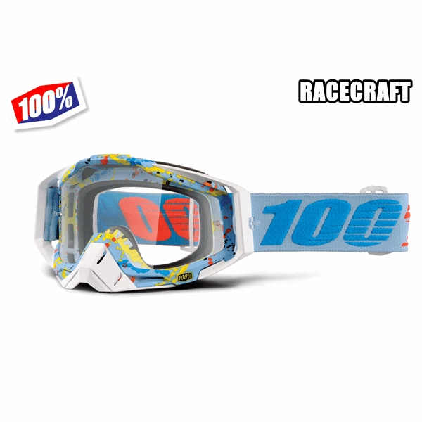 100% 17モデル ゴーグル RACECRAFT 【レースクラフト】 HYPERLOOP
