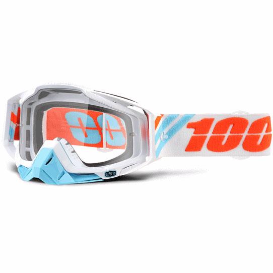 100% 17モデル ゴーグル RACECRAFT 【レースクラフト】 CALCULUS ICE