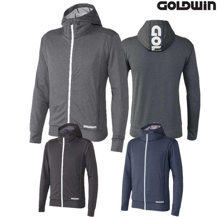 GOLDWIN 〔WEB価格〕GSM24700 フルジップスウェットパーカー