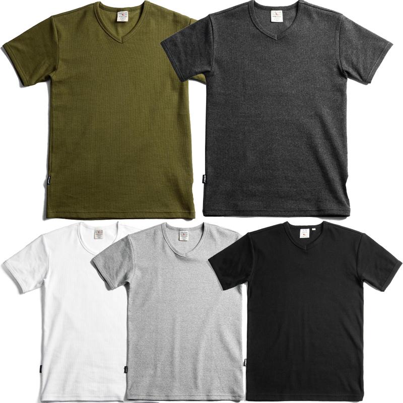6143501 デイリー VネックTシャツ