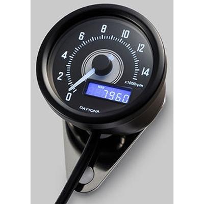 DAYTONA 〔WEB価格〕VELONA 電気式タコメーター φ60(パルスジェネレーター付き)