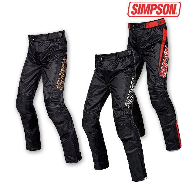 SIMPSON 【通販限定】STP-7111ツーリングパンツ 防水 オールシーズンパンツ