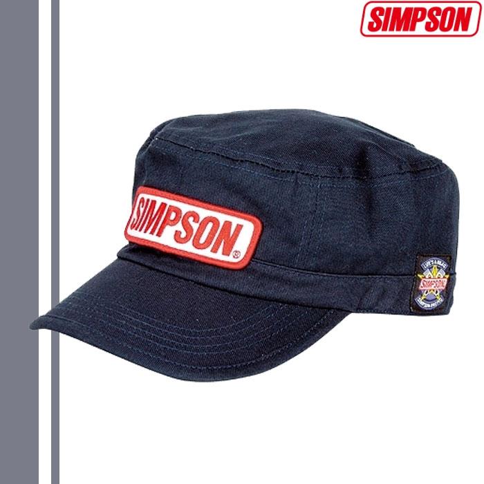 SIMPSON 【WEB限定】売り尽くし★ワークキャップ ネイビー SC-027 4562446491690 フリーサイズ
