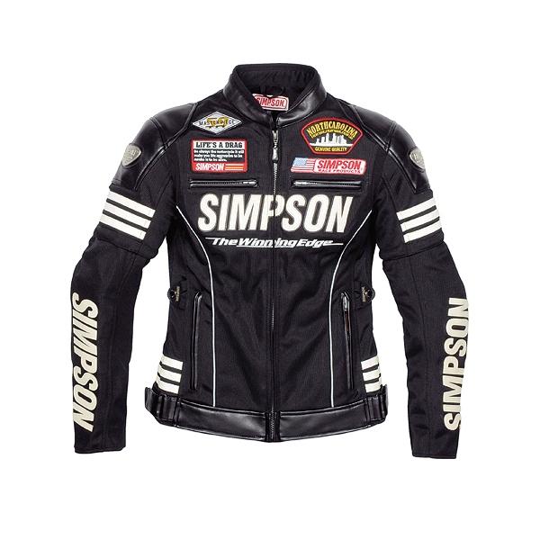 SIMPSON レディース メッシュジャケット