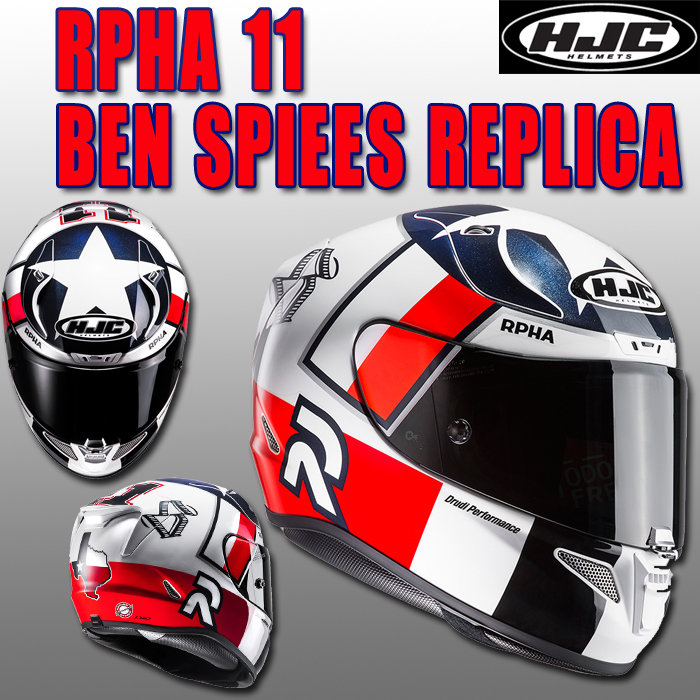 HJC HJH106 RPHA 11 BEN SPIEES [ベン スピース] フルフェイスヘルメット