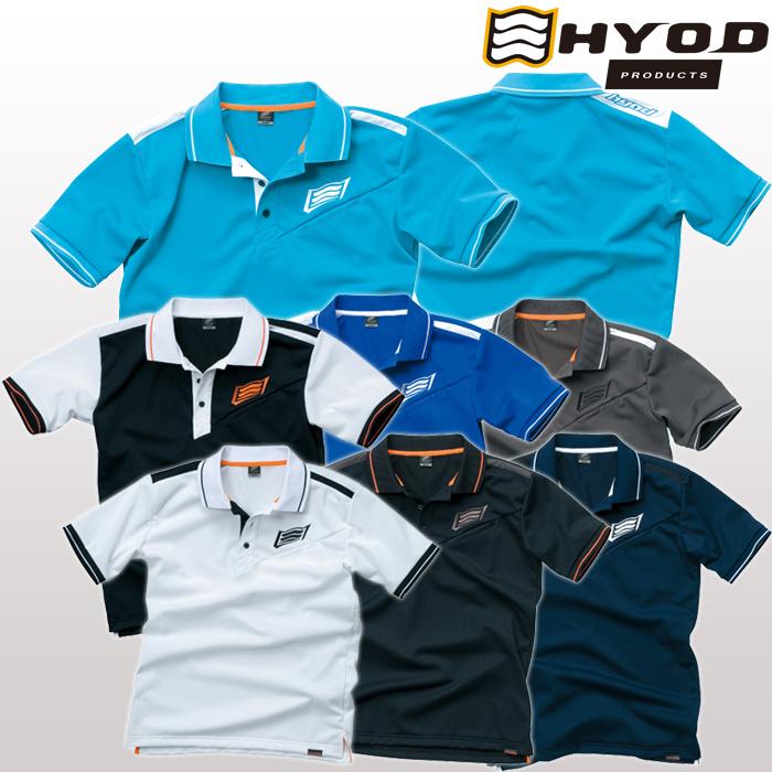 HYOD PRODUCTS 〔WEB価格〕【在庫限り】STU210 PERFORMANCE POLO-SHIRTS ポロシャツ 春夏用