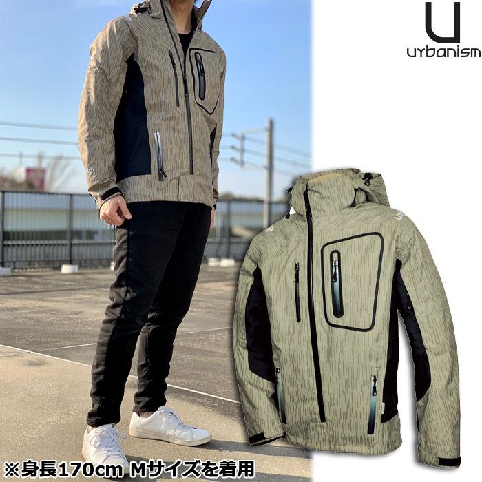 《在庫限り》UNJ-038 3レイヤーアシンメトリーメンズジャケット <タイムセール>
