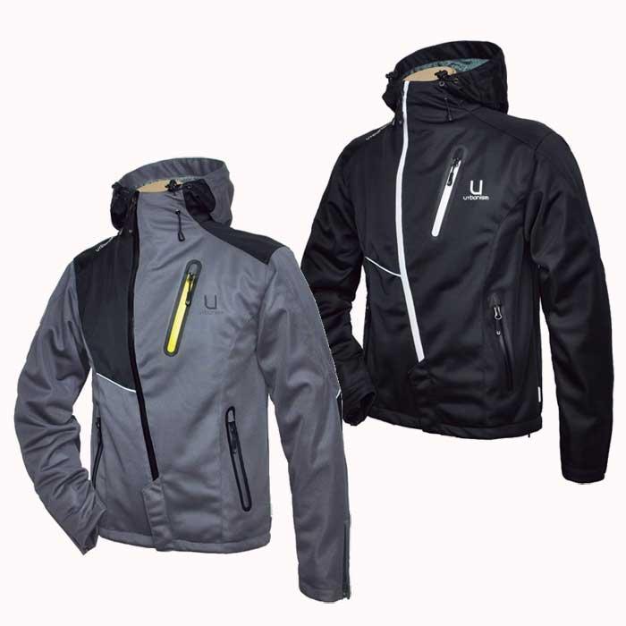 J-AMBLE フーデッドメッシュメンズジャケット