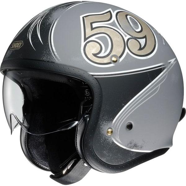 SHOEI ヘルメット J・O GRATTE-CIEL【グラット-シエル】 ジェットヘルメット
