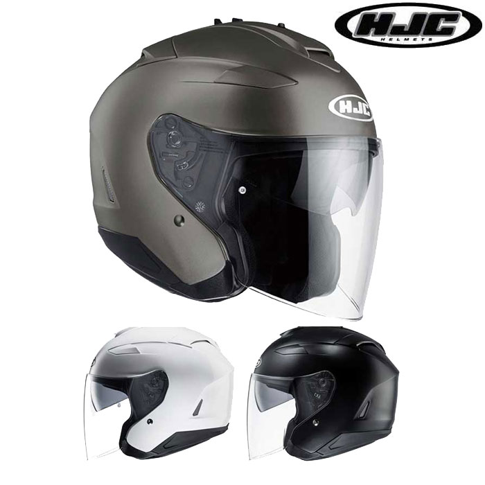 HJC 〔WEB価格〕HJH120 IS-33 II SOLID 【ソリッド】 ジェットヘルメット