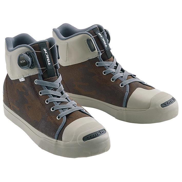 〔WEB価格〕RSS009 OutDry BOA ライディングシューズ スニーカー 靴 バイク用 カモフラージュ ◆全6色◆