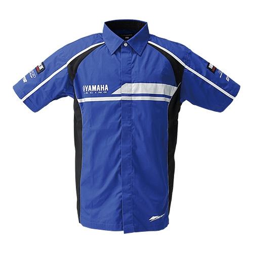 Y'S GEAR レディース YRB14 ヤマハレーシング ピットシャツ
