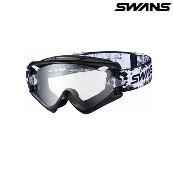 SWANS MX-RUSH-PET ブラック(クリア)