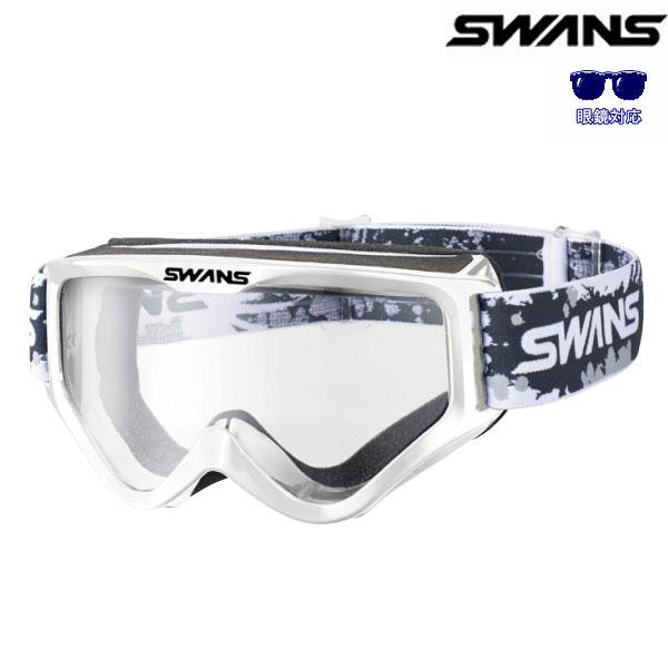 SWANS MX-797-PET 眼鏡対応モデル ブラック(クリアレンズ)