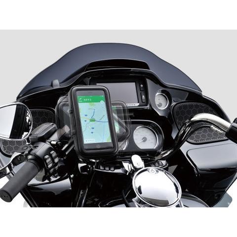 DAYTONA バイク用スマートフォンケース リジットクランプ式 XL