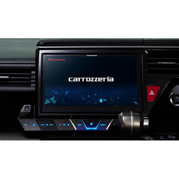 Pioneer 【CYBER NAVI】10V型ワイドXGA地上デジタルTV/DVD-V/CD/Bluetooth/USB/SD/チューナー・DSP AV一体型メモリーナビゲーション マルチドライブアシストユニットセット