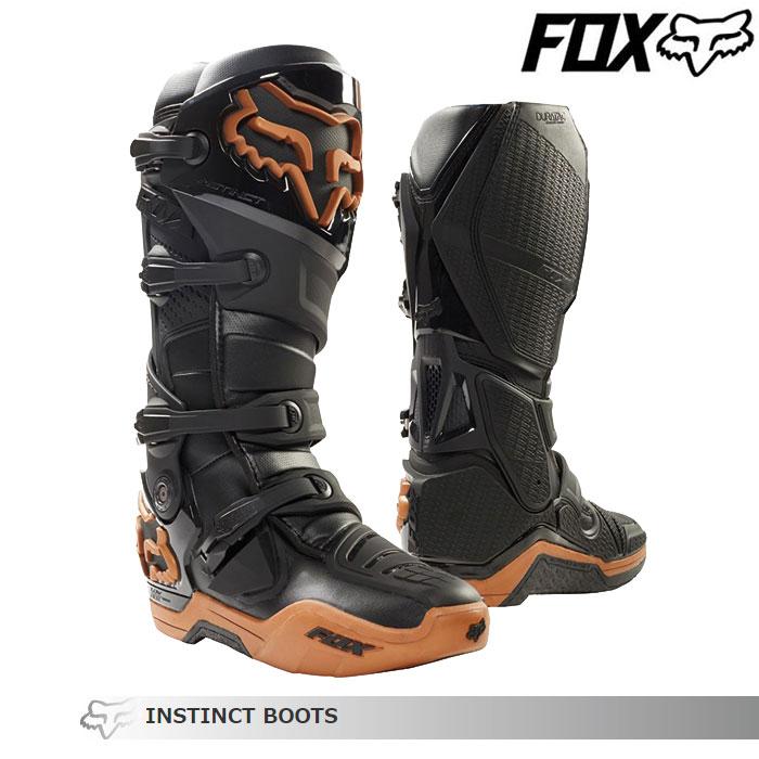 FOX RACING 〔WEB価格〕インスティンクト ブーツ Limited Edition    カッパー
