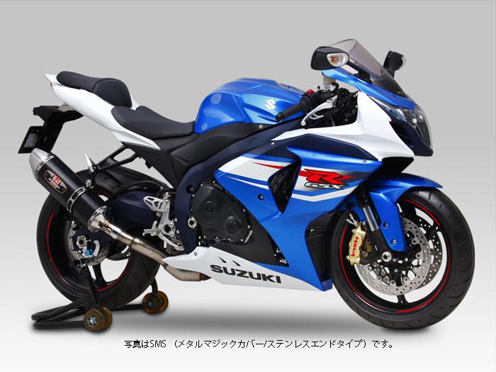 YOSHIMURA JAPAN Slip-On R-77Jサイクロン マフラー EXPORT SPEC 政府認証 GSX-R1000 '12-'16 カナダ仕様