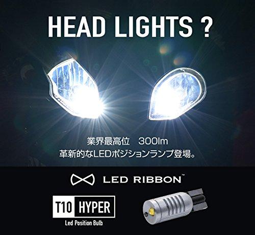 SygnHouse LED RIBBON T10HYPER LED ポジションバルブ 6500K 2個セット