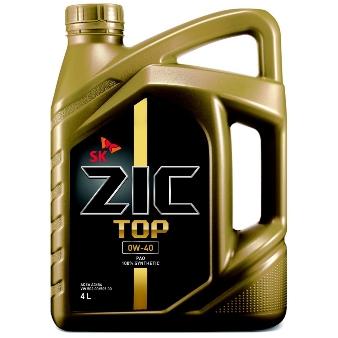 PALSTAR ZIC TOP 0W-40 エンジンオイル 4L